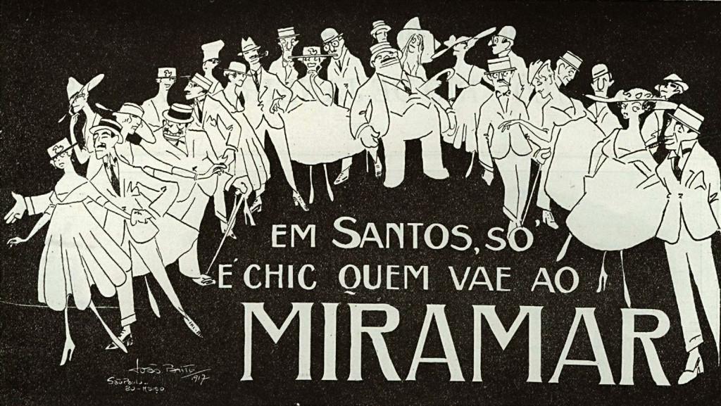Chamada publicitária publicada na Revista Brazil Ilustrado, em maio de 1920.