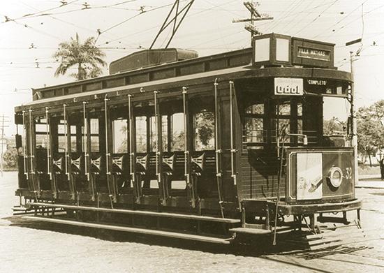 A City foi a responsável pela implantação dos bondes elétricos, a partir de 1909.