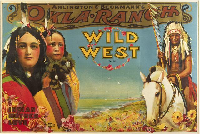"""O show """"Oklahoma Ranch Wild West"""" era produzido por Arlington"""