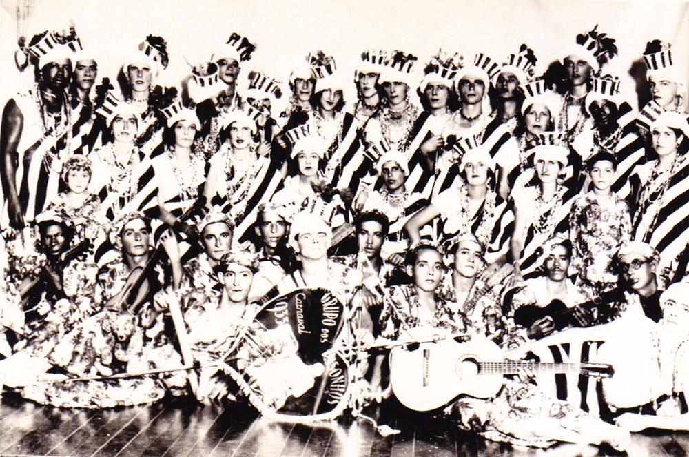 Bloco dos Risonhos, de 1933. Clique na imagem para ampliar.