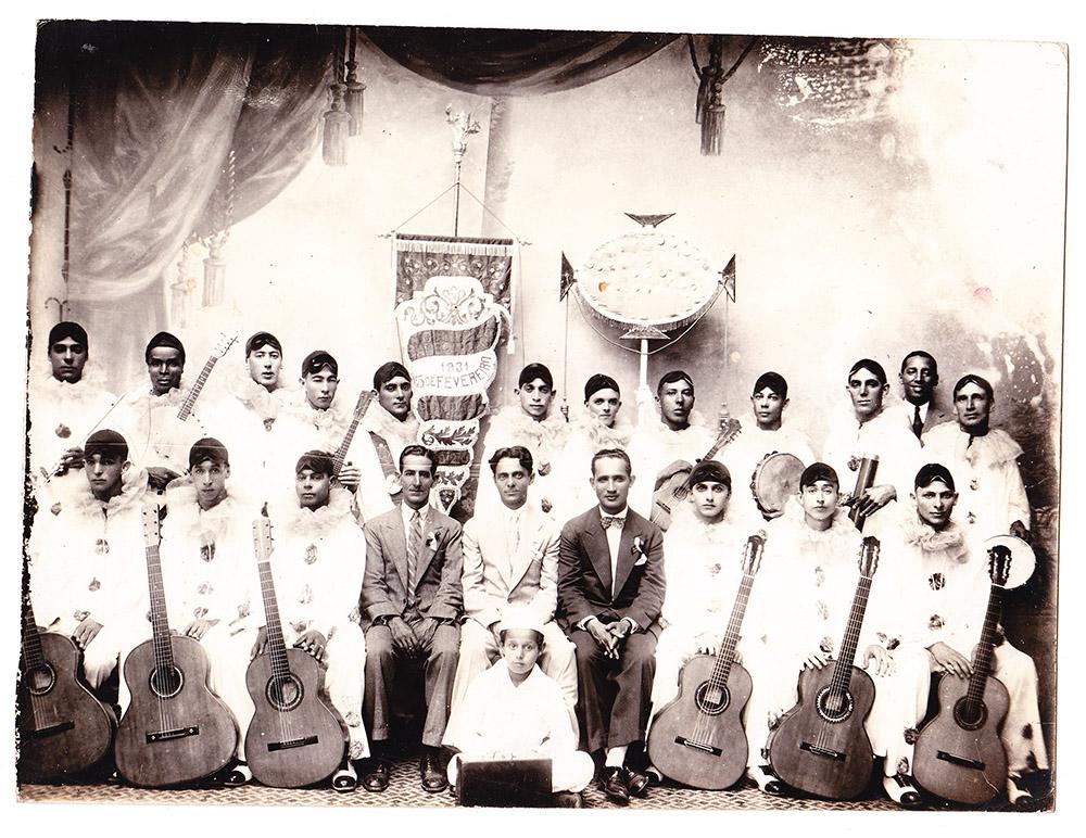 Grupo Sapeca Choro, de 1931