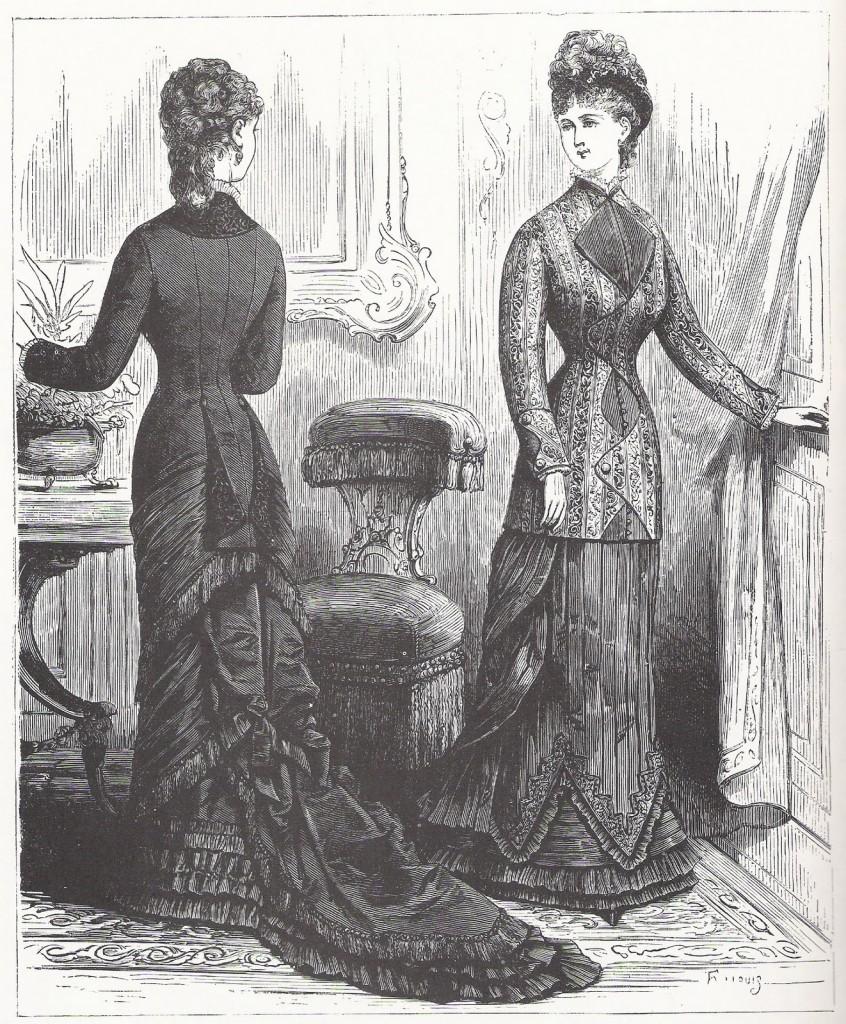 As donzelas da década de 1880 cuidavam da beleza com produtos que desembarcavam em Santos, vindas de Paris.