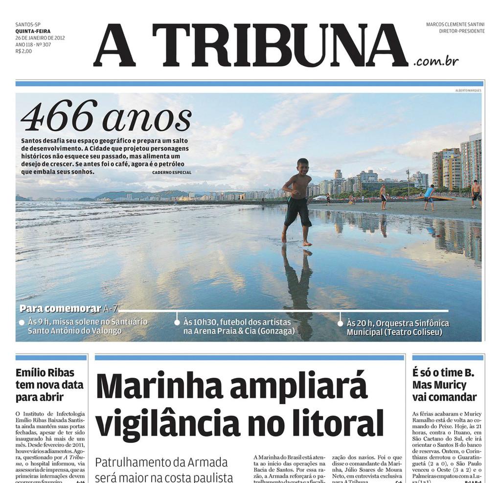 A Tribuna, nos dias de hoje, um jornal moderno e consolidado como um dos mais antigos e importantes do país.