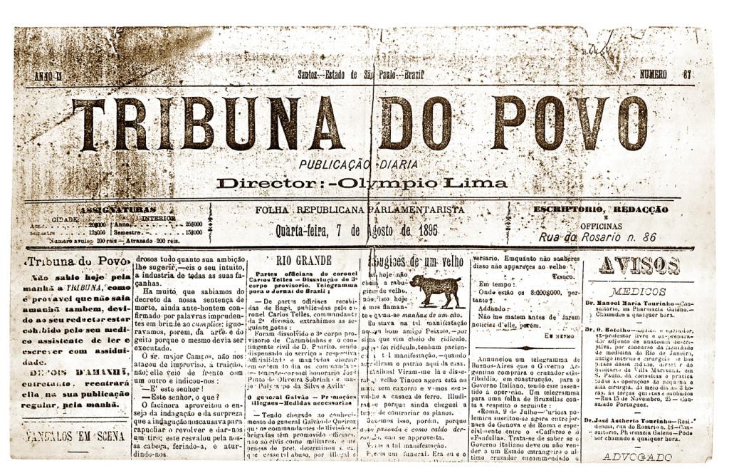 A Tribuna do Povo, editado por Olimpio Lima.