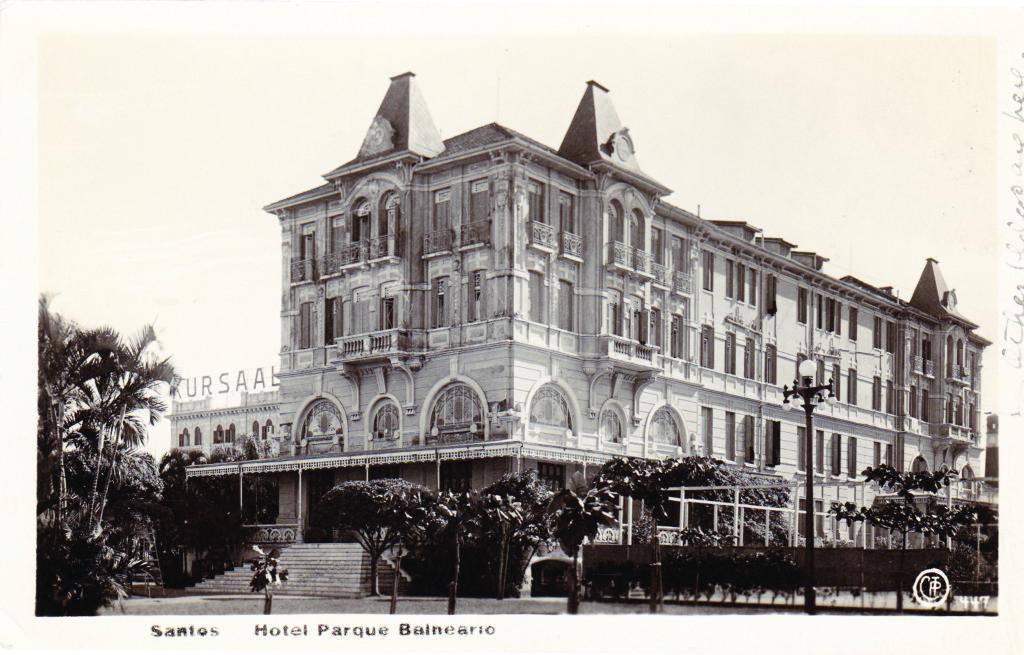 O Parque Balneário foi considerado o mais luxuoso hotel brasileiro.