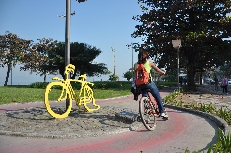 Da Pinacoteca para as ruas, para inspirar os ciclistas do dia a dia