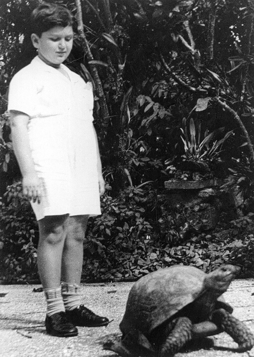 O Parque Indígena abrigava uma fauna interessante para as crianças.