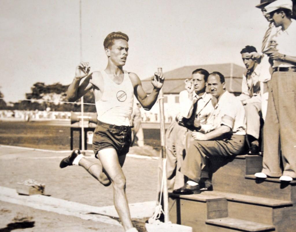 O atleta Innocêncio Rodrigues