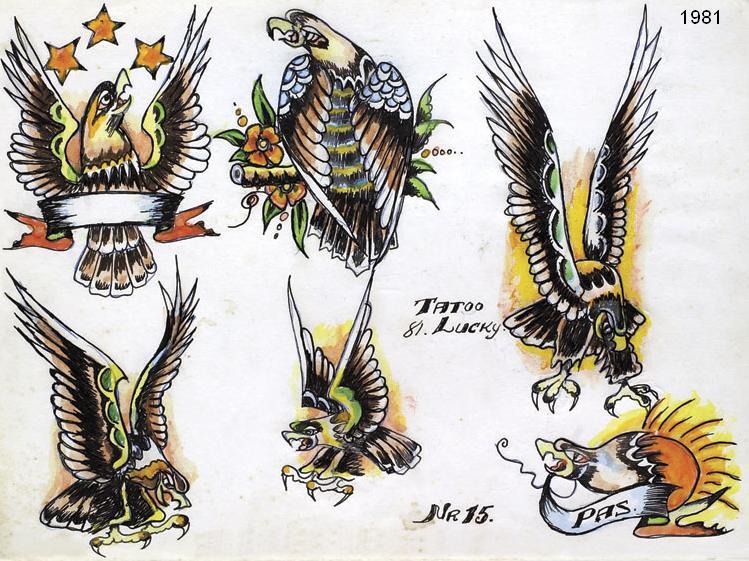 Desenhos do Lucky, de 1981