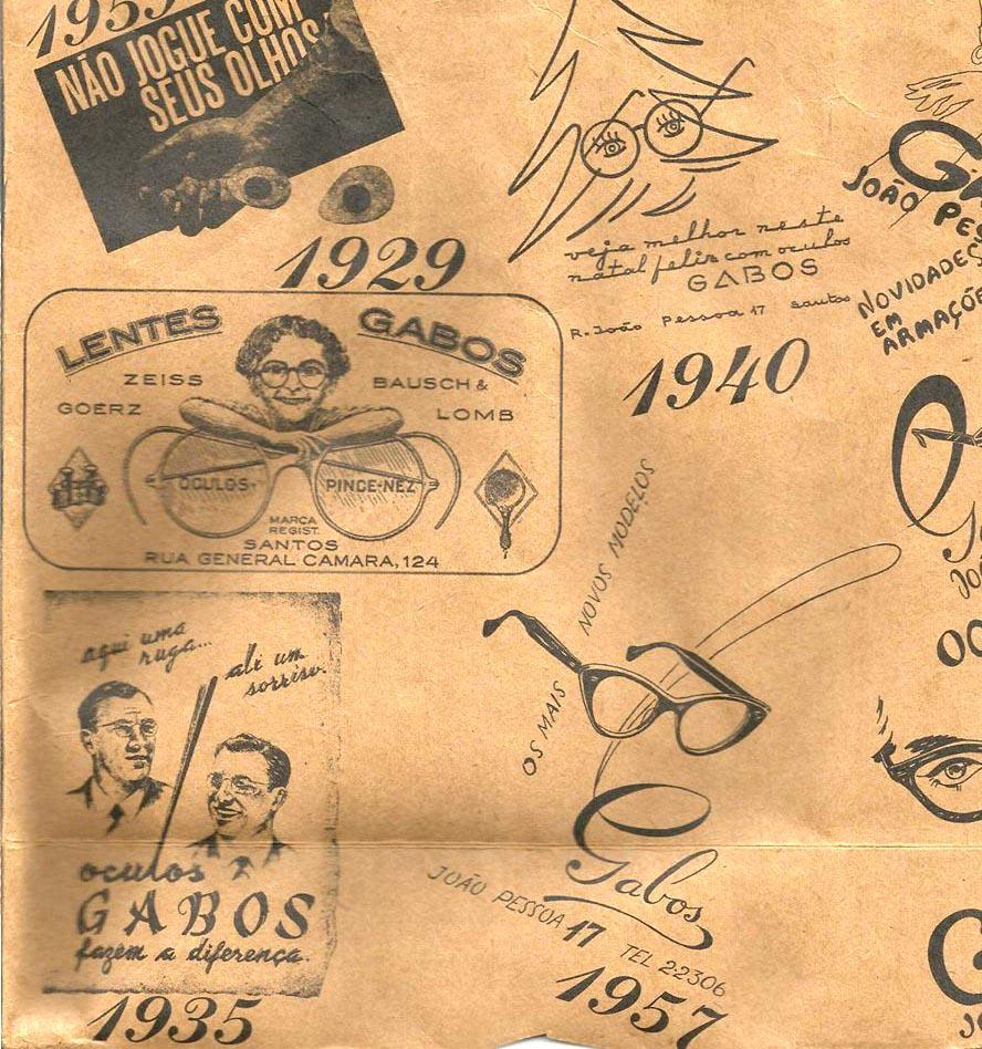 Mais anúncios da primeira ótica da cidade de Santos