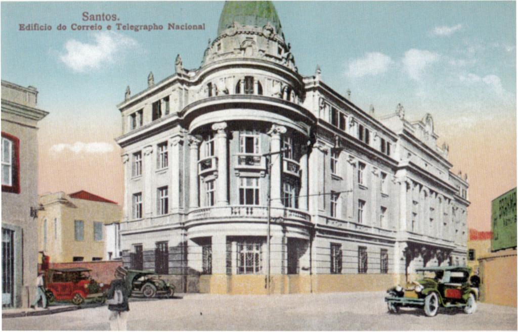 O prédio da Rua Cidade de Toledo, inaugurado na década de 1920.