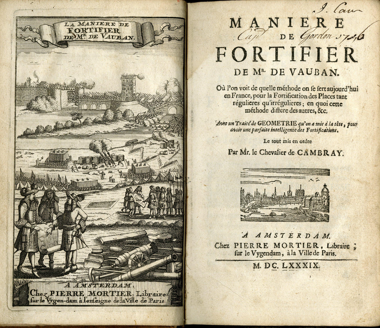 O estilo vaubaniano se tornou no século 17 uma referência de projetos para fortificações.