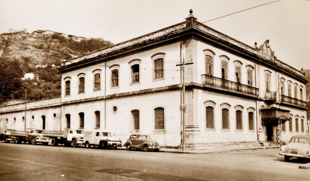 A Cadeia nos anos 1950.