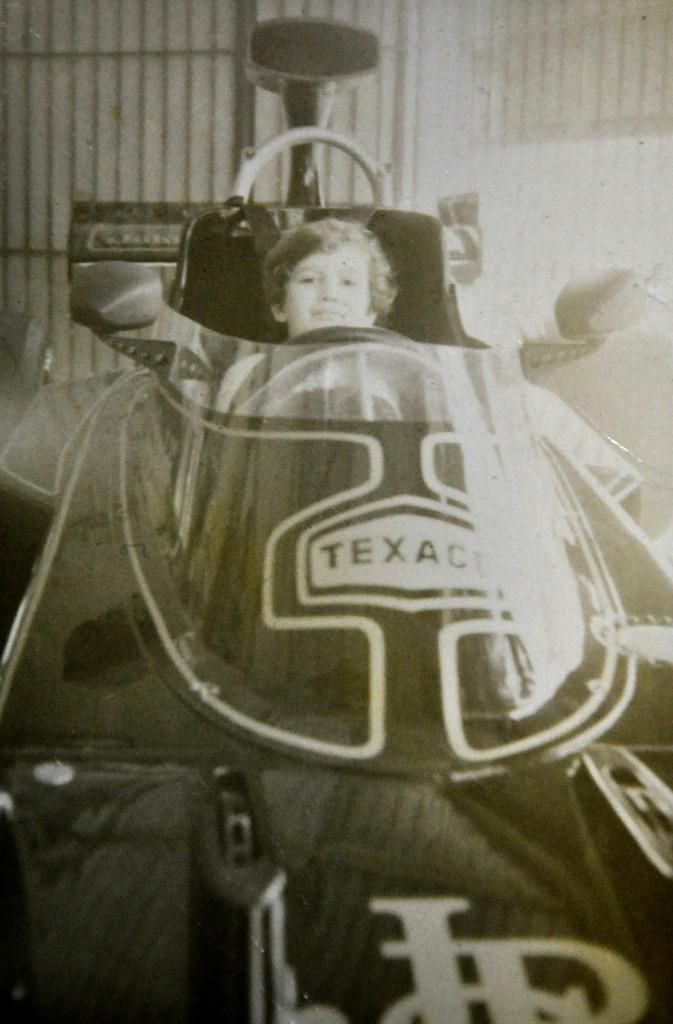 A réplica da Lotus que Fittipalidi utilizou para conquistar o mundial de Fórmula 1 de 1972.