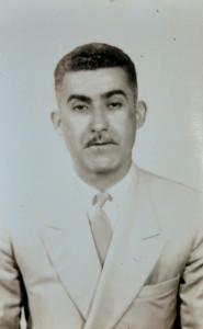 José Gonçalves, na década de 1950.