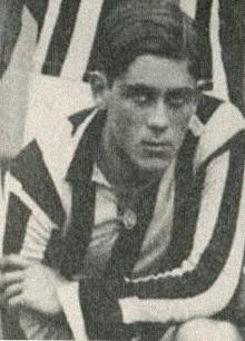 Adolpho Millon, autor do primeiro gol no campo da Vila Belmiro