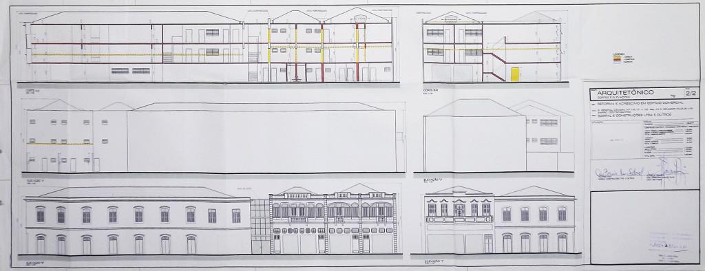Projeto de 2011, de autoria do arquiteto Raimundo