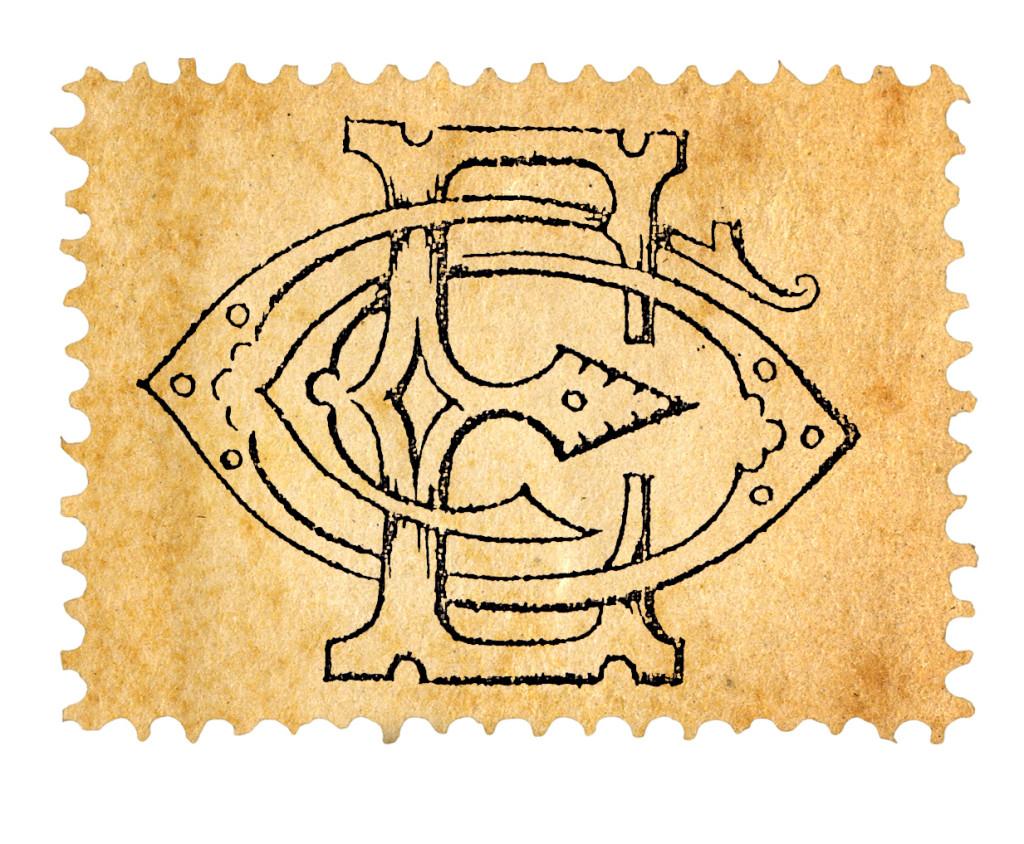 O símbolo de Giovanni Éboli, inserido no seu material pessoal.