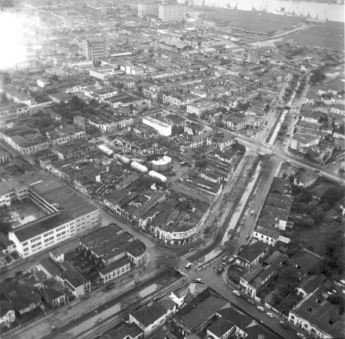 A explosão do Gasômetro atingiu praticamente todas as edificações da Vila Nova e adjacências.