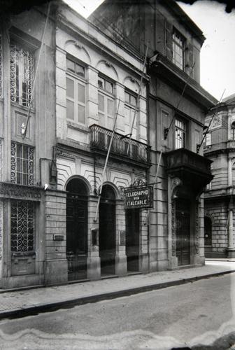 O escritório da Italcable, na Rua XV.