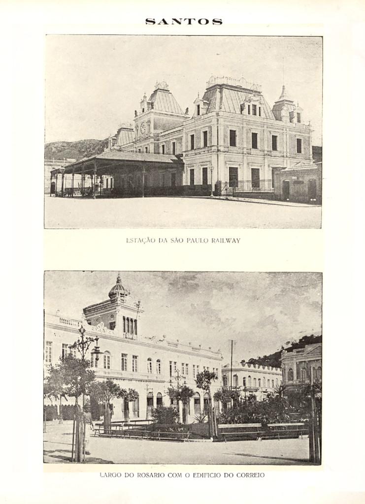 Os jornalistas de A Lua visitaram os principais pontos da cidade, como a estação de trem e a agência dos Correios, que ficava na atual praça Ruy Barbosa.