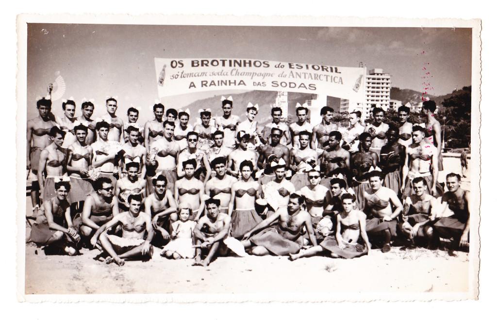 Bloco Brotinhos do Estoril, no inicio dos anos 1960.