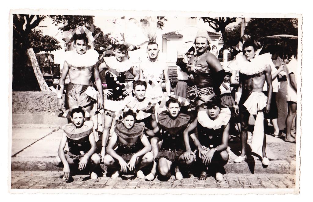 Bloco da Dona Dorotea, nos anos 1940.