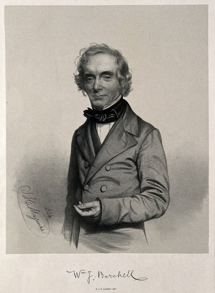 William John Burchell. Lithograph by T. H. Maguire, 1854.