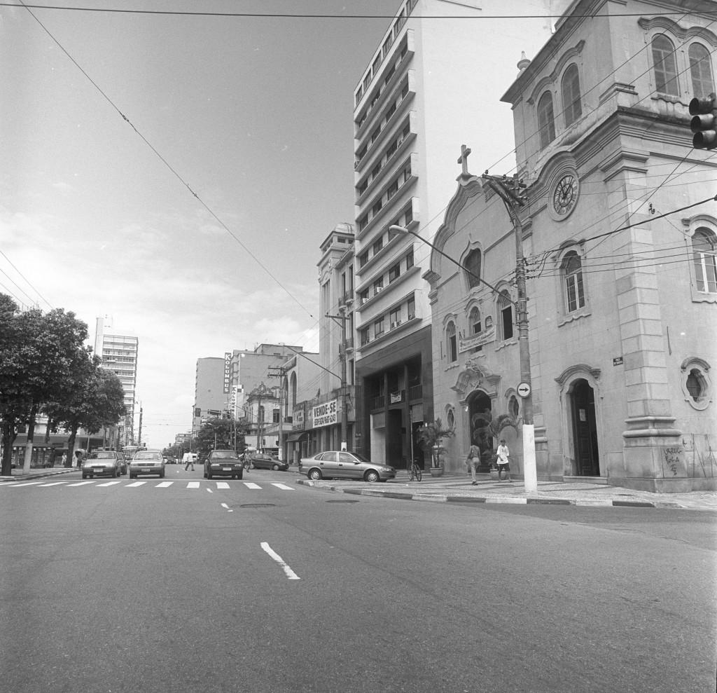 Rua João Pessoa nos anos 1990.
