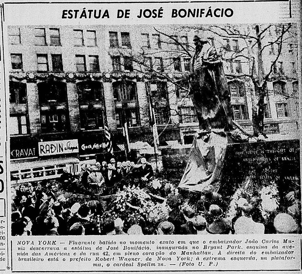 Nota publicada no jornal Diário de Notícias, do Rio de Janeiro.