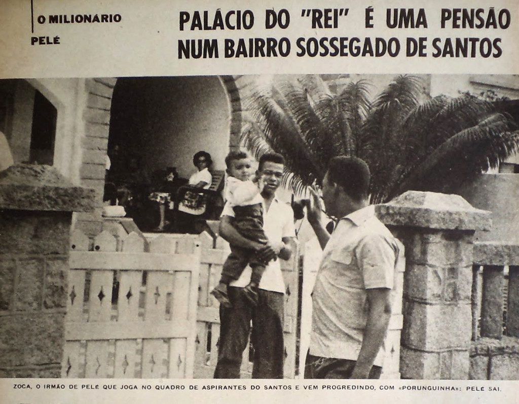 Frente da pensão de Raimundo, na Pinheiro Machado