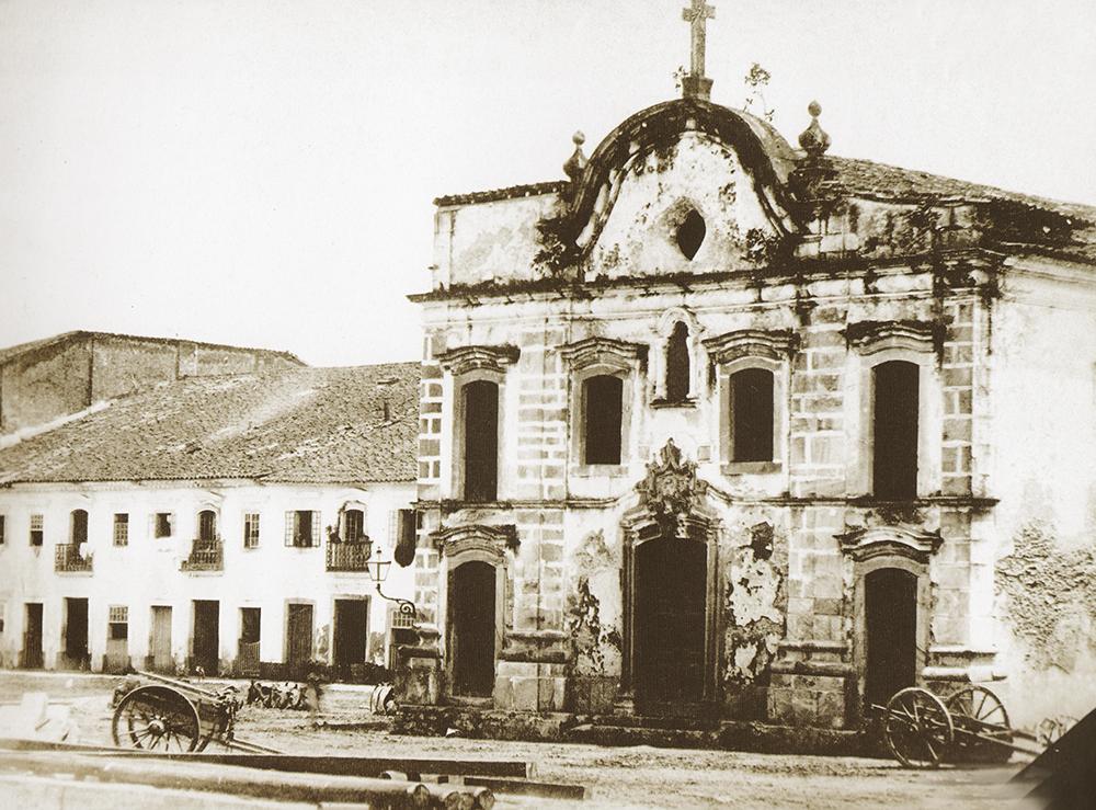 Foto de Militão Augusto de Azevedo, tirada em 1865.