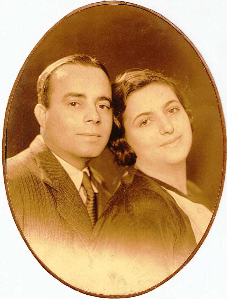 Manoel Varela e sua esposa, Cacilda.