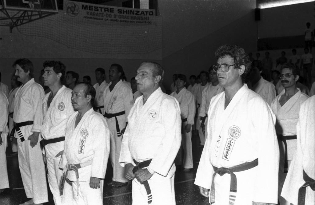 O ex-prefeito Osvaldo Justo foi um dedicado discípulo do mestre Shinzato.