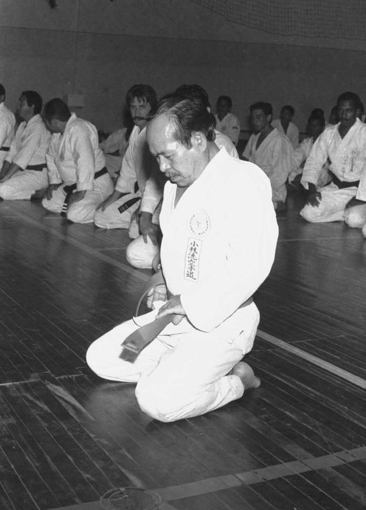 Shinzato, nos anos 1980. O mestre já era reverenciado em toda a América Latina.
