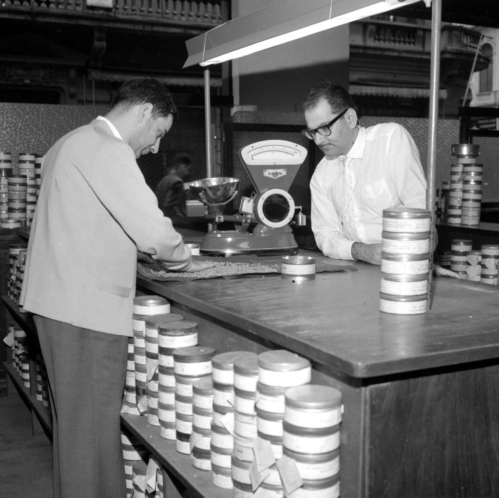 O comércio do café em Santos foi o foco principal de Clarence.