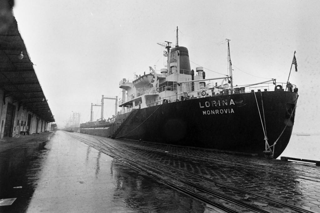 O Lorina, depois de toda a aventura, foi deixado no cais do armazém 33.