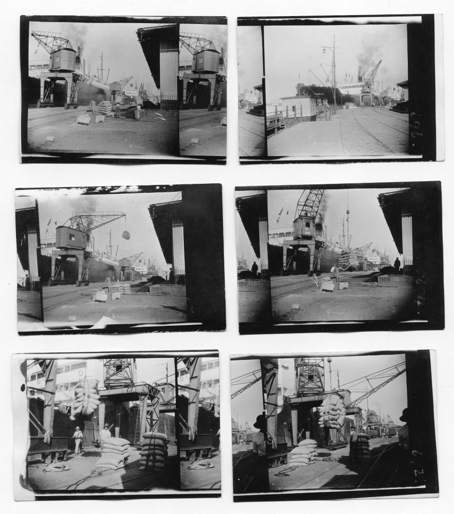 Algumas cenas do Porto de Santos em 1927. Fotos: J. Dearden Holmes.