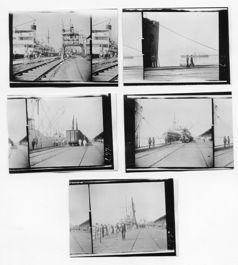 Mais cenas do Porto de Santos em 1927. Fotos: J. Dearden Holmes.